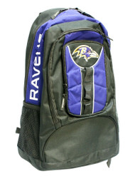 NFL Baltimore Ravens Colossus Backpack, 20-Inch, Purple