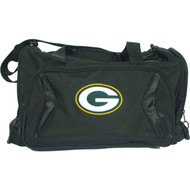 NFL Green Bay Packers Black Flyby Duffle Bag