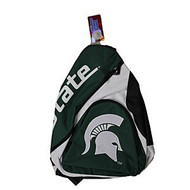 NCAA Michigan State Spartans Slingback Sling Bag - Green