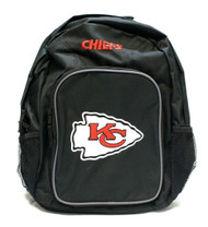 NFL Kansas City Chiefs Southpaw Backpack, Black, Medium