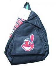 Cleveland Indians Sling Bag Backpack Black