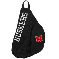 NCAA Nebraska Cornhuskers Slingback Cross-Body Backpack