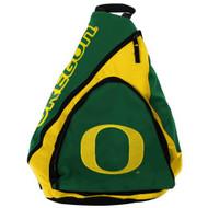 NCAA Oregon Ducks Slingback Backpack, 8.5-Inch, Green