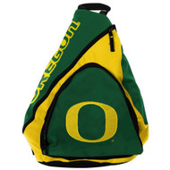 NCAA Oregon Ducks Slingback Backpack 8.5-Inch Green