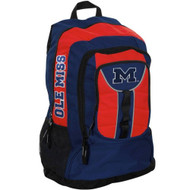 NCAA Mississippi Rebels Colossus Backpack, 20-Inch, Blue