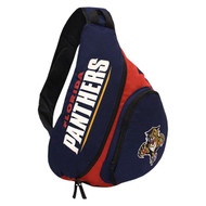 NHL Florida Panthers Slingback Sling Bag, Navy