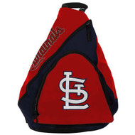 MLB St. Louis Cardinals Slingback Backpack - Red