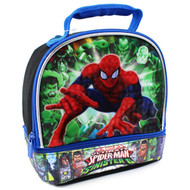 Spider-Man vs Sinister 6 Soft Lunch Box (Sinister Black)