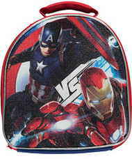 "Captain America ""Vs Iron Man"" Insulated Lunchbox - blue, one size"