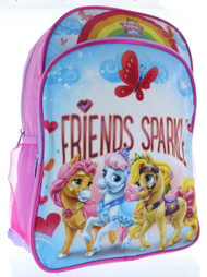 "Disney Princess Palace Pets 16"" Backpack - Friends Sparkle"