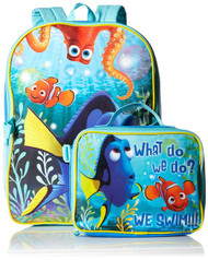 Disney Boys' Dory Backpack with Lunch Box