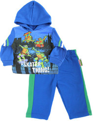Baby Boys' Teenage Mutant Ninja Turtles Hoodie Set - It's a Skater Thing! - 18 Months