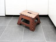 Samsonite Mini Folding Step Stool, Brown/Tan
