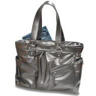 Baby Essential Silver Messenger Bag