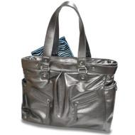 Baby Essential Silver Messenger Bag