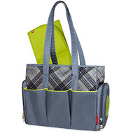 Fisher-Price Fastfinder Deluxe Diaper Bag - Plaid Tote