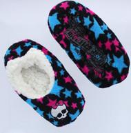 Monster High Girls Slipper Socks Shoe Size 8-13