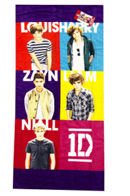 One Direction Squared Beach Towel