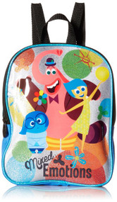 Disney Girls' Inside Out Mini 10 Inch Backpack