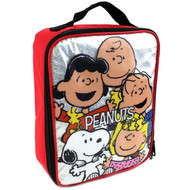 Peanuts Snoopy Soft Lunch Box (Peanuts Gang Red)