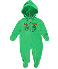 """TMNT Baby Boys' """"Powerful Turtles"""" Hooded Pram Suit"""