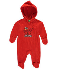 "Sesame Street Baby Boys' ""Awesome Play"" Hooded Pram Suit"