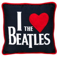 "The Beatles ""I love The Beatles"" 14"" Deco Pillow"