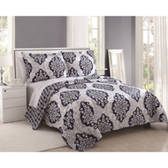 Juliet Reversible Medallion 3-piece Quilt Set, King Size
