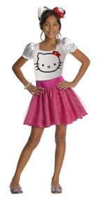 Hello Kitty Tutu Dress Child Costume - Medium 8-10