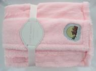 Cozy Nights Super Soft Faux Fur Sherpa (Pink)