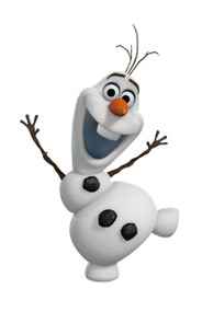 Olaf The Snowman Wall Friends Talking Room Light