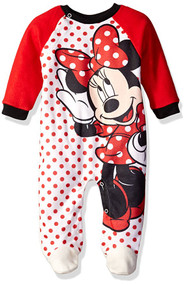 Disney Baby Girls Minnie Printed Coverall