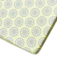 Wendy Bellissimo™ Mix & Match Gracie Fitted Crib Sheet in Yellow