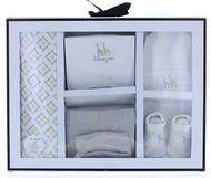 Wendy Bellissimo™ 5-Piece Layette Set - Newborn Infant In Grey