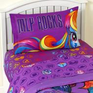 My Little Pony MLP Rocks 3 Piece Twin Sheet Set