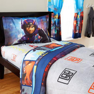 Big Hero 6 Prodigy Twin Sheet Set