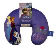 Disney Frozen Sisters Anna & Elsa Travel Neck Pillow