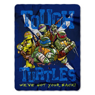 Teenage Mutant Ninja Turtles Tough Turtle Blues Fleece Throw