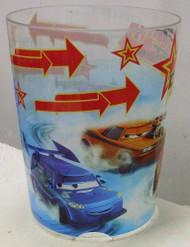 Disney Cars Drift Lightning Mcqueen, Boost, Dj, Snot Rod, and Wingo Wastebasket