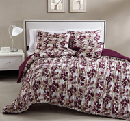 4-Piece Queen Aurielle Mini Comforter Set