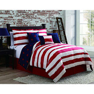 Americana Reversible 7-piece Comforter Set (Cal King)