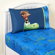 Good Dinosaur Carnivore Microfiber Twin Sheet Set