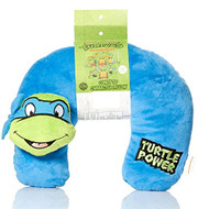 TMNT Plush 3D Character Travel Pillow