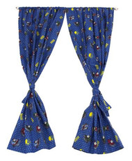 Thomas and Friend Rod Pocket Drapes