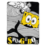 Spongebob Squarepants Bob at Sea Super Plush Throw