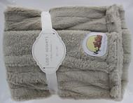 Cozy Nights Super Soft Faux Fur Sherpa (Gray)