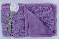 Night Night Baby Blanket (Light Purple/ Light Purple)