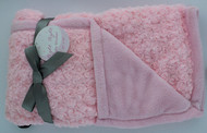 Night Night Baby Blanket (Light Pink/ Light Pink)