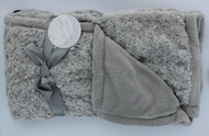 Night Night Baby Blanket (Grey)