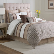 Catalina Embroidered 8-piece Comforter Set (Full)